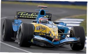 1:18 Minichamps Renault F1 100th Win 2005 F Alonso