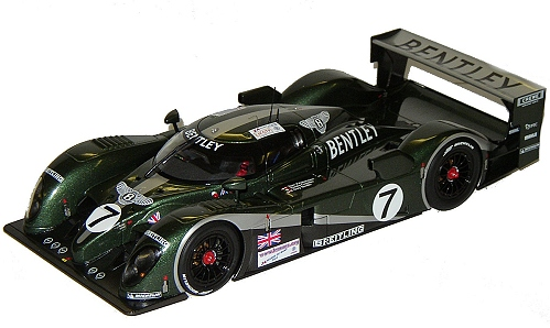 1:18 Scale Bentley EXP Speed 8 #7 Winner 2003 Le Mans