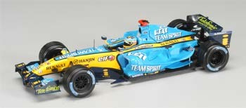 1:18 Scale Minichamps Renault R25 2006 F Alonso Due 09/06