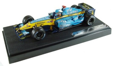 1:18 Scale Minichamps Renault R25 F1 2005 Champion Edition F Alonso Due 06/06