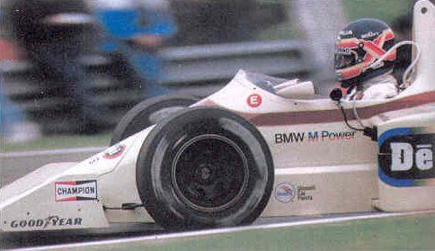 1:43 Minichamps Arrows BMW A8 1985 - T.Boutsen