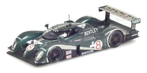 1:43 Minichamps Bentley EXP Speed 8 - 12 Hour Sebring 2003 - Herbet / Brabham / Blundell