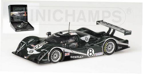 1:43 Minichamps Bentley EXP Speed 8