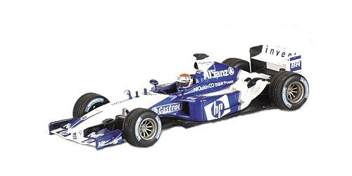 1:43 Minichamps BMW Williams 2003 FW25 M Gene Italian GP Ltd Ed