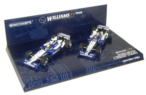 1:43 Minichamps Williams BMW FW24 Malaysian GP 1-2 Twin Set - Ltd. Ed. 2-500 pcs - Ralf Schumacher