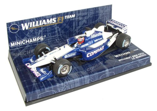 1:43 Minichamps Williams BMW FW24 Race Car 2002 - Juan Pablo Montoya