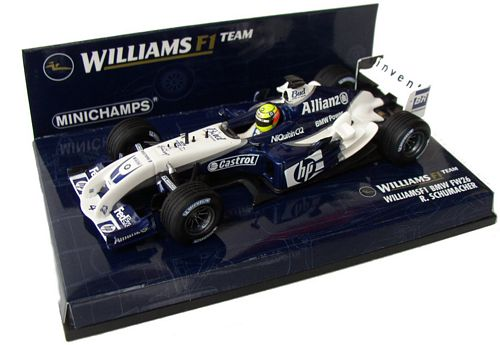 1:43 Minichamps Williams F1 BMW FW26 - Ralf Schumacher