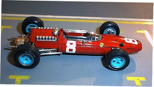 1:43 Model Ferrari 512GP Italia 1965 Brumm