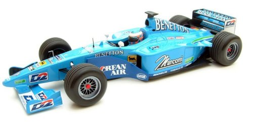 1:43 Scale Benetton B200 Testcar Dec 5th 2000 J.Button Ltd Ed 2.999pcs