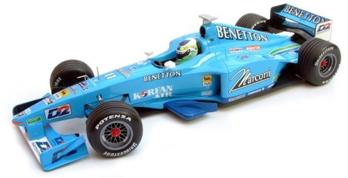 1:43 Scale Benetton Playlife B200 Showcar G.Fisichella Ltd Ed 3.168pcs
