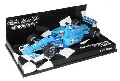 1:43 Scale Benetton Renault Sport 2001 Showcar - Jenson Button