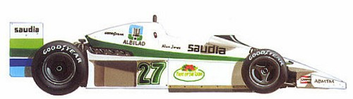1:43 Scale Minichamps Williams Ford FW06 A Jones 1978 Due 09/06