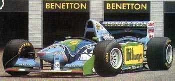 1:43 Scale Benetton B194 Bitburger - M. Schumacher (no driver figure) - Pre-order now!!