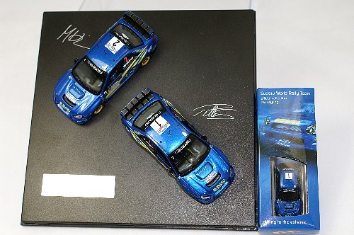 Subaru WRC 1:43 Joint Car New Zealand Set of 2 Ltd Ed.