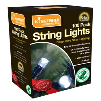 Pack of Solar String Lights - Return