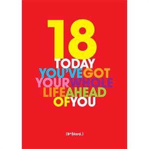 Birthday Card - Whole Life Ahead of You