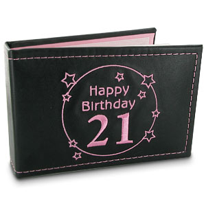 Birthday Black Photo Album