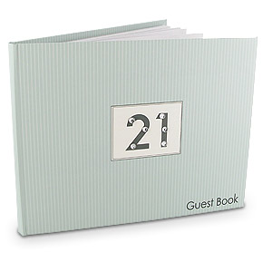 Birthday Crystal Set Guest Book