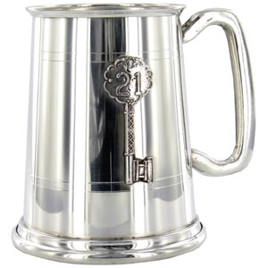 Birthday Key Pint Tankard