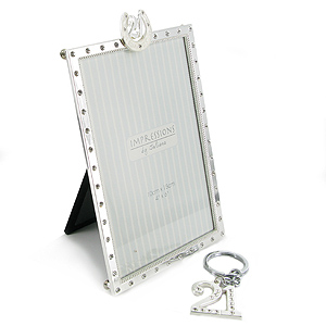 Birthday Photo Frame and Key Ring Gift Set
