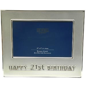 Birthday Photo Frame (Silver)