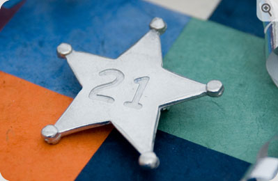 Birthday Star Badge