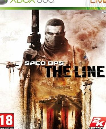 TAKE TWO INTERACTIVE TAKETWO INTERACTIVE SPEC OPS: THE LINE XBOX 360 SWX3326