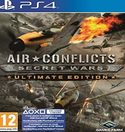 2tainment Air Conflicts: Secret Wars Ultimate Edition (PS4)