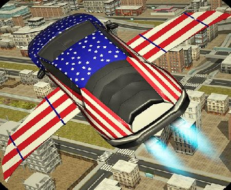 3D Gamax Games Free Flying Racing Car Driving