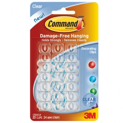 Command Indoor Decorating Clips GC801058063