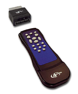 DVD Remote & Receiver for PS2