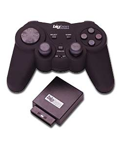 Vibrating Wireless Controller PS2