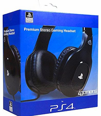 Officially Licensed Stereo Gaming Headset (PS4)