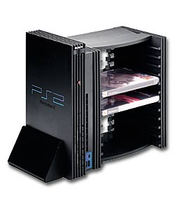 V-Stand & 12 DVD Storage Unit