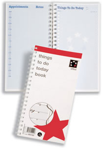 Office Things To Do Today Book Wirebound