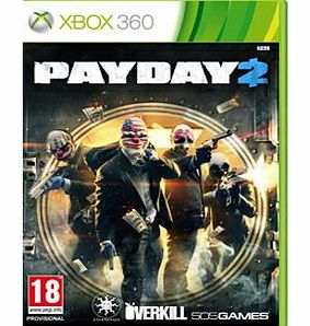 Payday 2 on Xbox 360
