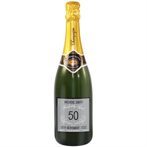 Birthday Personalised Champagne Bottles -