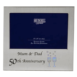 Wedding Anniversary Mum and Dad Photo Frame