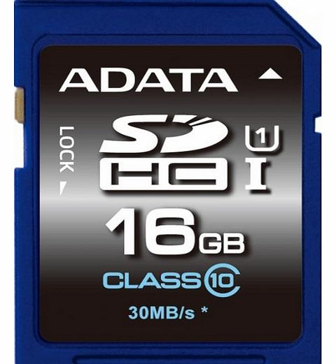 A-Data 16GB A-Data Premier SDHC CL10 UHS-1 Memory Card