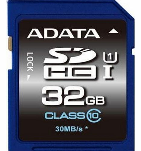 A-Data 32GB A-Data Premier SDHC CL10 UHS-1 Memory Card