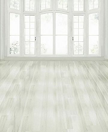 A.Monamour Pure White Hall Room Indoor Flooring Wall Studio Mural Cloth Vinyl 5x7ft Photography Backdrops