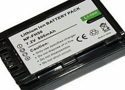 AAA Products High Capacity - Rechargeable battery for Sony DCR-DVD202E DVD Handycam Camcorder - AAA Products - 12 Month Warranty