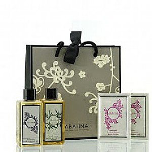 Abahna Free Abahna Luxury Bath and Shower Travel Collection worth 15