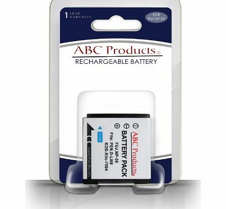 ABC Products Replacement Kodak Rechargeable Li-ion Battery Klic 7004 for Select Easyshare Digital Camera / HD Pocket Video Camera (Models Stated Below)