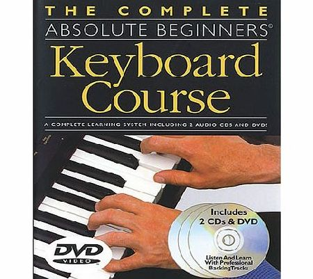 Absolute Beginners Keyboard Learning Pack
