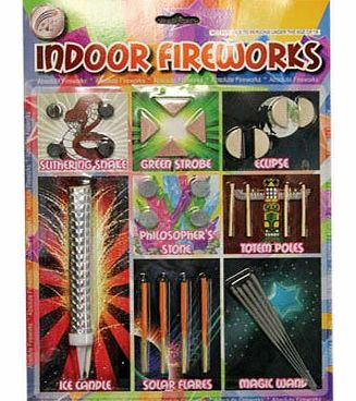 Absolute Fireworks Pack of 30 Indoor Fireworks