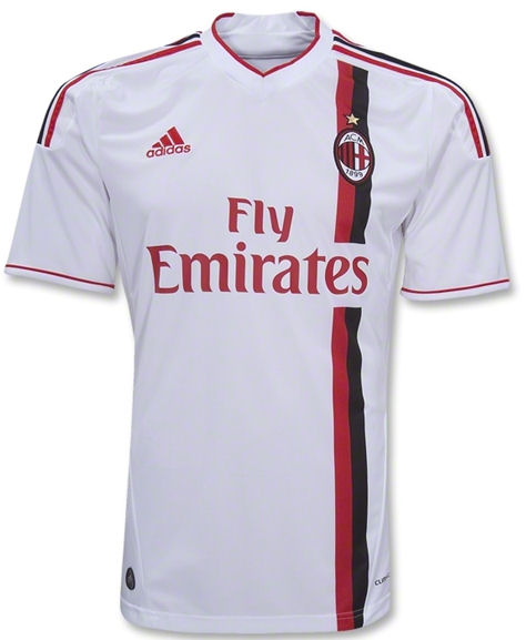 AC Milan Adidas 2011-12 AC Milan Adidas Away Football Shirt