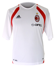 AC Milan Adidas AC Milan Training shirt - white 05/06