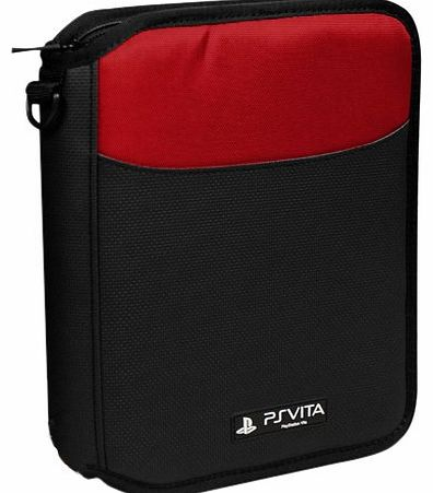 Playstation Vita Officially Licensed 4Gamers Deluxe Travel Case - Red (PlayStation Vita)