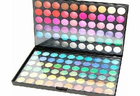 Accessotech 120 Colours Eyeshadow Eye Shadow Palette Makeup Kit Set Make Up Professional Box